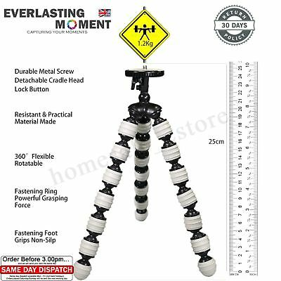 Load 2KG Octopus Flexible Tripod Stand Gorillapod For Canon Nikon Camera DV NEW