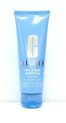 Clinique City Block Purifying Charcoal Clay Mask + Scrub - 100ml