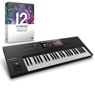 Native Instruments Kontrol S49 MK2 USB MIDI Keyboard & Komplete 12 Ultimate UPG