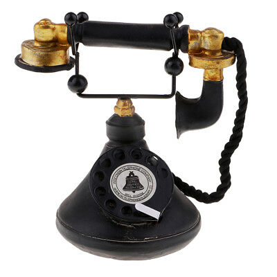 Antique Home Telephone Retro Vintage Old Fashioned Home Dial Phone 7111-34