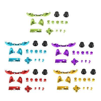 5Pcs Thumbstick Analog Stick Bullet ABXY Buttons for Xbox One S Controllers