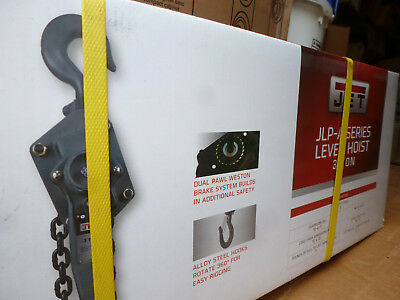 New JET 187615 3 Ton Lever Hoist with 10' Lift (JLP-300A-10)