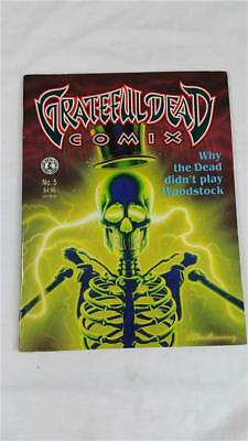 Grateful Dead Comix # 5 Why The Dead Didn't Play Woodstock Kitchen Sink 1992