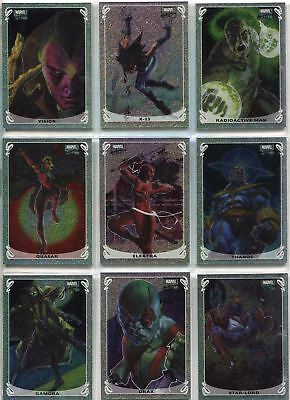 Marvel Masterpieces 2018 Complete Holofoil Chase Card Set #1-20