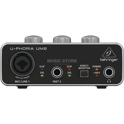 Behringer - UM2 U-Phoria USB Audio Interface