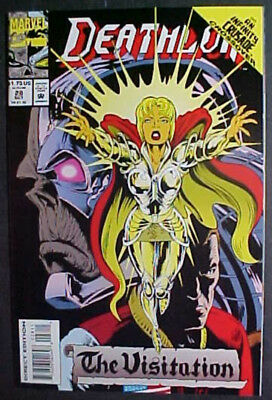 Deathlok #28! Infinity Crusade! Nm 1993 Marvel Comics
