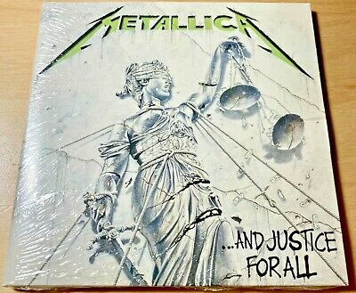 Metallica ~ And Justice For All ~ NEW CD (Sealed) Digipack ~ PLUS Sew On Patch !