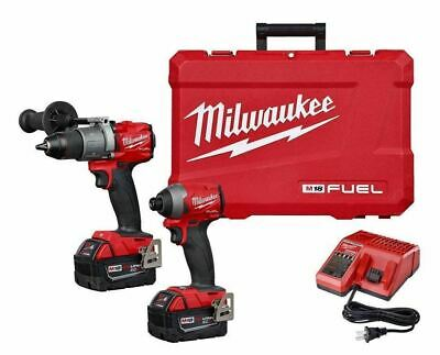 Milwaukee M18 FUEL Hammer Drill & Impact Driver Combo Kit  2997-22