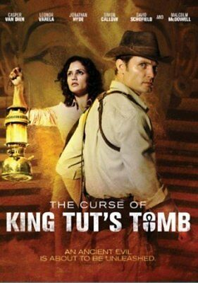Curse of King Tut's Tomb Casper Van Dien Jonathan Hyde Mummy Movie NEW DVD