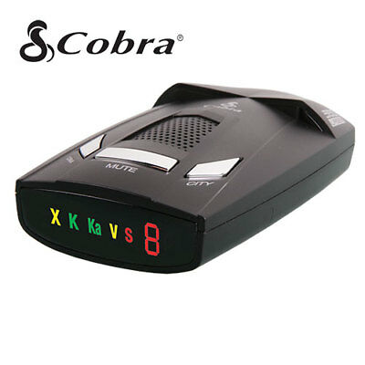 Cobra ESR-800 12 Band Cop Police Laser Detection Radar Detector w/ Voice Alert