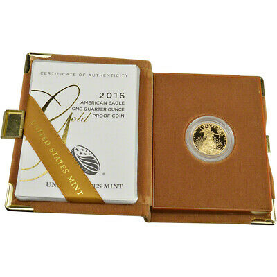 2016-W American Gold Eagle Proof (1/4 oz) $10 in OGP