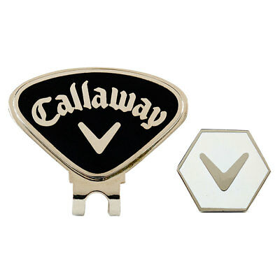 Callaway Golf Hat Clip & Hex Magnetic Ball Marker CALCT29026 - Black 31% OFF RRP
