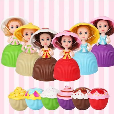 1pc Lovely Surprise Cupcake Princess Doll Transformed Scented Cake Girls Toys ~