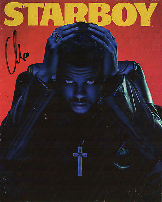 The Weeknd signed autographed 8x10 photo lithograph! RARE! Guaranteed Authentic!