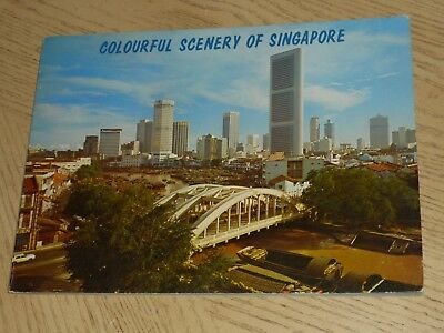 RARE 1970s Colourful Scenery Of Singapore Color Photo Book Merdeka Faber Jurong