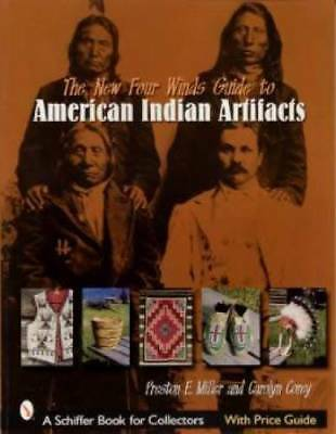 Native American Indian Artifacts ID book Basket Pottery