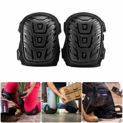 Professional Gel Knee Pads for Work Construction Protection & Adjustable Strap