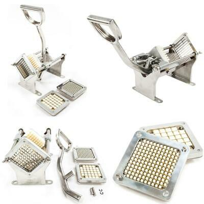 Aluminum Potato French Fry Fruit Vegetable Cutter Slicer Commercial with Blades
