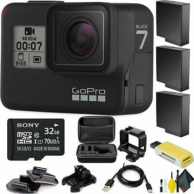 GoPro HERO7 Black HD Waterproof Action Camera Deluxe Package