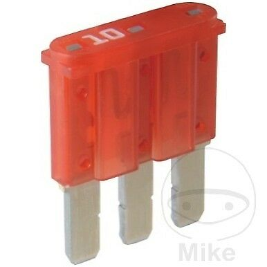 Herth & Buss Micro 3 Fuse 10A Red 50295667