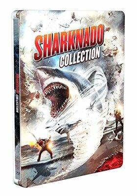 Sharknado 1 2 3 4 5 6 Complete Collection New Sealed Region A Bluray Steelbook
