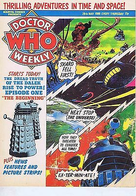 DR WHO MAGAZINE 28 May 1980
