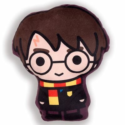 Harry Potter Shaped Filled Soft Plush Cushion Kids Cartoon