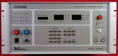 Associated Research 6554SA Quadchek Electrical Safety Analyzer