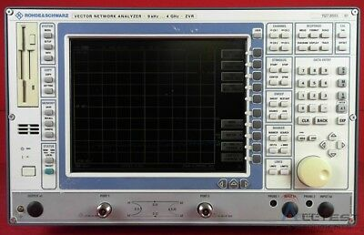 Rohde & Schwarz ZVR Vector Network Analyzer, 10 kHz to 4 GHz