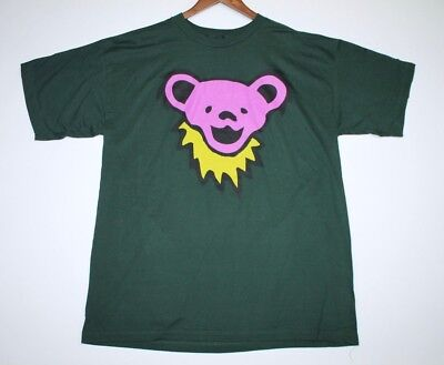 XL * NOS vtg 90s Grateful Dead bear t shirt