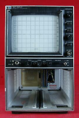 HP - Agilent - Keysight 182T Spectrum Analyzer Mainframe Display
