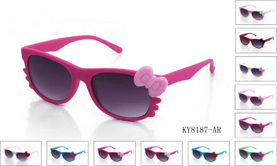 9e34d718a Cosplay Hello Kitty Bow Style Sunglasses Women Girl Lady Fashion UV  Protection