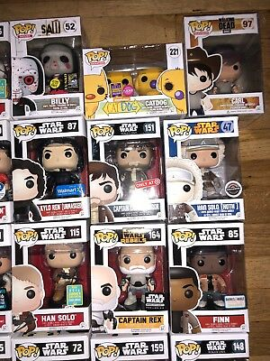 2 Mystery Funko Pop! Lot - 1 CHASE/EXCLUSIVES/RARE/VAULTED GUARANTEED