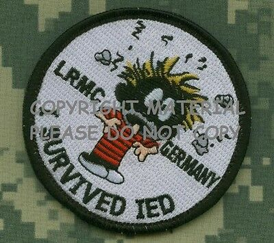 Talizombie Whacker Lrmc Allemagne Bardane Patch : I Survived Ied Calvin Pipi Boy
