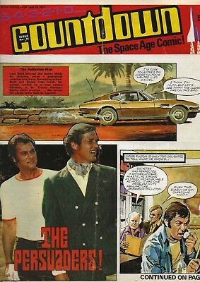 COUNTDOWN: The Space Age Comic! Issue No.44 December 18th 1971. THE PERSUADERS!