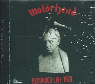 Motorhead - What's Wordsworth? Lemmy Live Roundhouse 1978 Remastered Sealed Cd