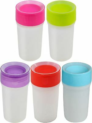 LiteCup SIPPY CUP & NIGHTLIGHT Non-Spill Glowing 360ml Freeflow Kids 12m+ BN