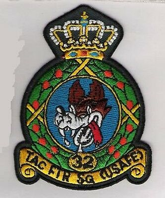 Usafe 32d Air Ops Sqn Wolfhound Joyeux Noël Ramstein Ab Allemagne Inactive 05