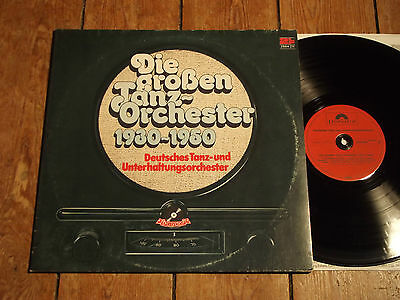 V/A - DIE GROSSEN TANZORCHESTER 1930 - 1950 - POLYDOR - 2 LPs
