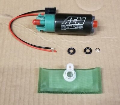 AEM HIGH FLOW E85 1000HP FUEL PUMP 320 LPH for 06-11 Civic WRX STi Install Kit