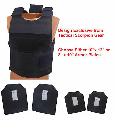COMPLETE LEVEL III AR500 Steel Body Armor With Dual Pocket