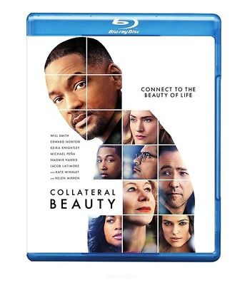 Collateral Beauty (Blu-ray Disc, 2017, Includes Digital Copy UltraViolet) NEW
