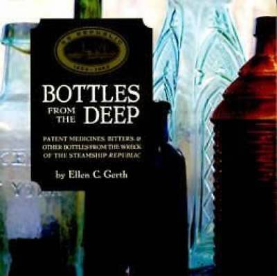 Antique Glass Bottles from Shipwreck Medicine Bitters