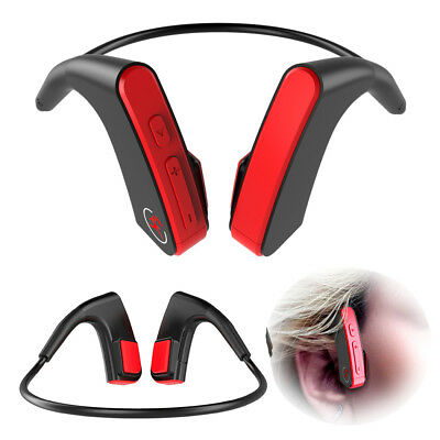 New Headphones Bone Conduction Bluetooth Stereo Headset Open Ear Wireless w Mic