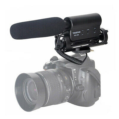 TAKSTAR SGC-598 Video Photography Interview Shotgun Microphone for Canon Nikon