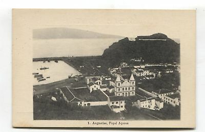 Augustias, Fayal, Azores - early Portugal postcard