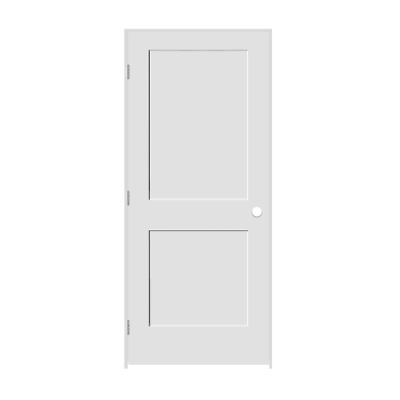 """Trimlite 2468138-8402RH26D6916 28"""" by 80"""" Shaker 2 Panel Right Handed Interior P"""