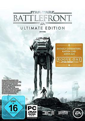 Pc Game Star Wars Battlefront Ultimate Edition DVD Card New