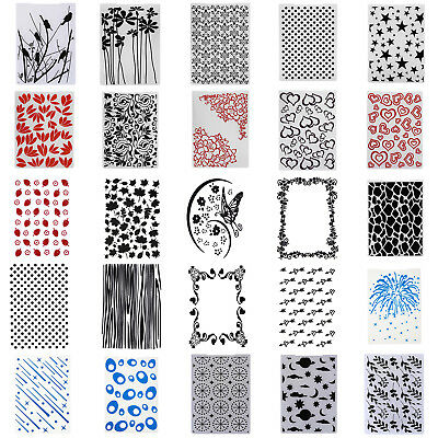 Plastic Embossing Folder Template For DIY Scrapbook Photo Album Cards Crafts