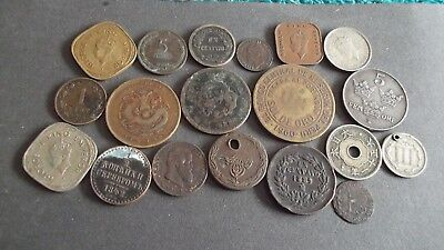 JOB LOT OF INTERESTING OLD COINS  99p 1945 G
